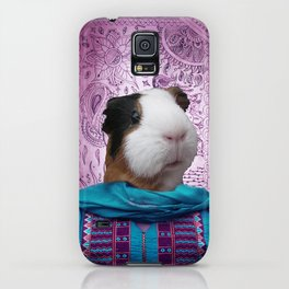 Bollywood Purple Guinea Pig  iPhone Case