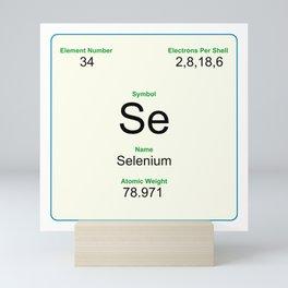 34 Selenium Mini Art Print