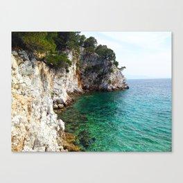 Skopelos Sea Canvas Print