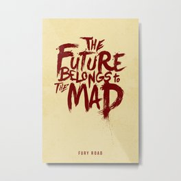 Mad Max: Fury Road Metal Print