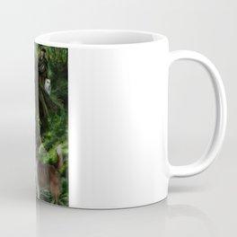 Sleeping Fairy on Unicorn Coffee Mug