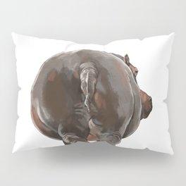 Hippo Butt Pillow Sham