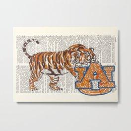 War Eagle  (Auburn Tiger) Metal Print