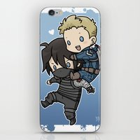 stucky iPhone & iPod Skins featuring Stucky On You by DeanDraws