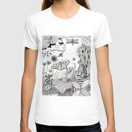 Butterfly Zentangle T-shirt
