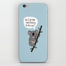 Koala Question iPhone & iPod Skin