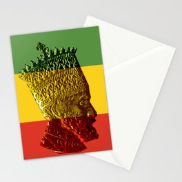 Selassie I Stationery Cards