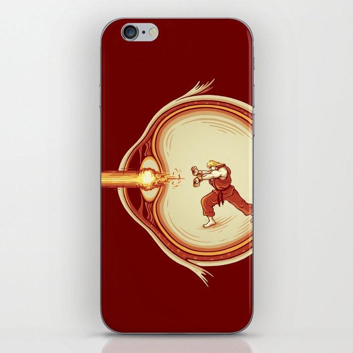 Optic Blast iPhone Skin