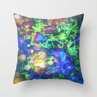 chaos Throw Pillows featuring Chaos by ArtByRobin