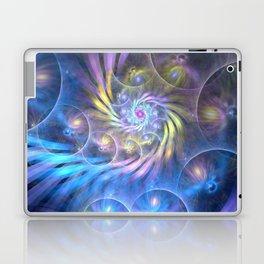 fractal: spiralling soul Laptop & iPad Skin