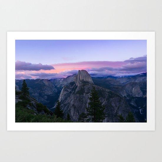 Yosemite National park #society6 Art Print