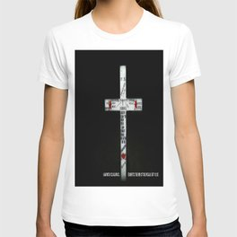 Cross Last words T-shirt