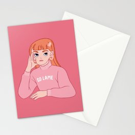 SO LAME Stationery Cards