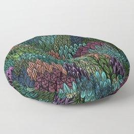 July Leaves Floor Pillow