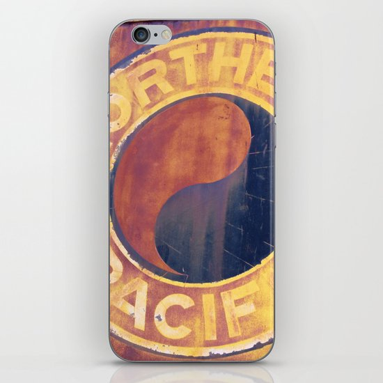 Rust and Memories iPhone & iPod Skin