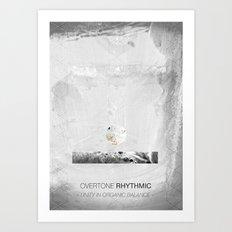 Overtone Rhythmic Art Print