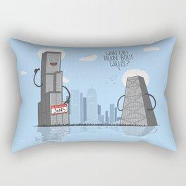 Whatchu' talkin bout willis Rectangular Pillow