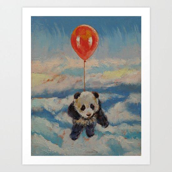 Balloon Ride Art Print