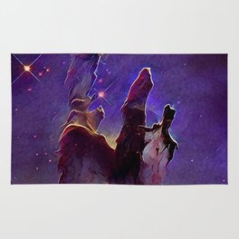 ALTERED Pillars of Creation Rug