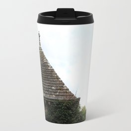 Italian Garden at Glamis Castle Travel Mug