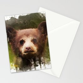 Bear Cub - Watercolor Stationery Cards