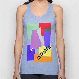 DON'T TOUCH Unisex Tank Top
