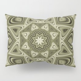 Heart Mandala Pillow Sham