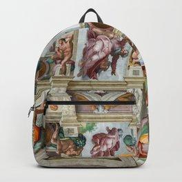 Vatican: Michelangelo's Sistine Chapel / Creation of Adam Backpack