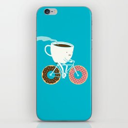 Coffee and Donuts iPhone Skin