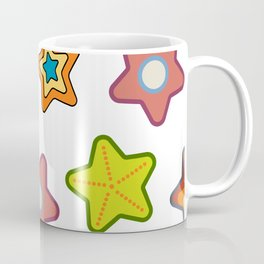 Retro stars Coffee Mug