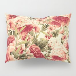 Vintage Blossoms (Endearing Sunset) Pillow Sham