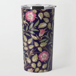 William Morris Briar Floral Art Nouveau Travel Mug