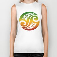 reggae Biker Tanks featuring Reggae Poloneisan by Lonica Photography & Poly Designs