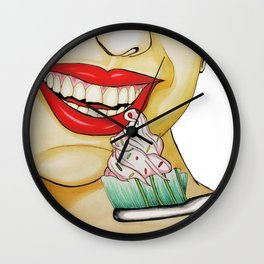 Brush your teeth! Wall Clock