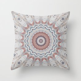 Dreamcatcher Earth Throw Pillow