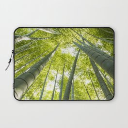 Bamboo forest in Japan Laptop Sleeve