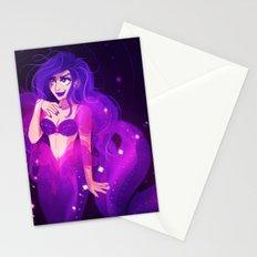 Purple Mermaid Stationery Cards