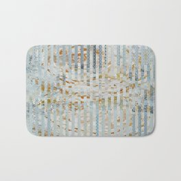 Gold roses Bath Mat