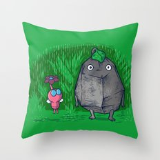 My little neighbors Throw Pillow