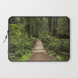 Walk Through Prairie Creek Redwoods State Park Laptop Sleeve