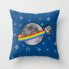 Nyan Space Core Throw Pillow