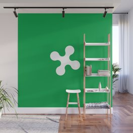 flag of lombardy Wall Mural