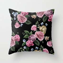 FLORAL PATTERN 10 Throw Pillow