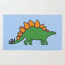Cute Stegosaurus Rug