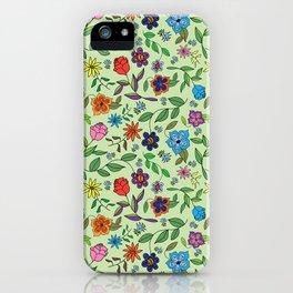 Wedding Flowers iPhone Case