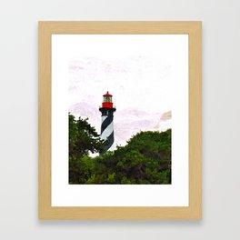 St. Augustine Lighthouse II Framed Art Print