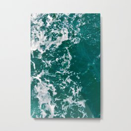 Emerald Waters Metal Print