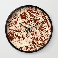 lace Wall Clocks featuring Lace by Keren Shiker