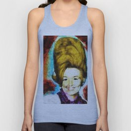 Young Dolly by Aaron Bir Unisex Tank Top