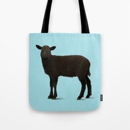 Black Lamb // Blue Tote Bag